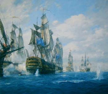 Geoff Hunt : The Battle of St. Vincent, 14th February, 1797